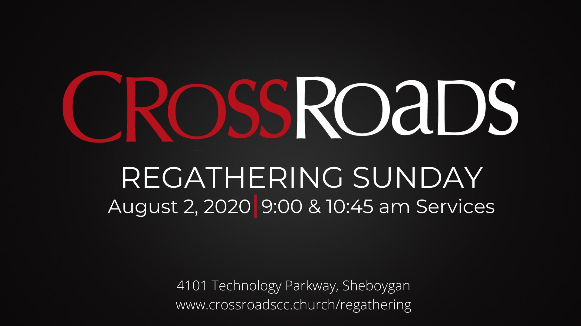 Regathering Sunday Pop Up Image
