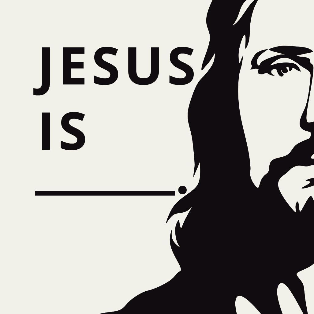 Jesus is Postcard square image
