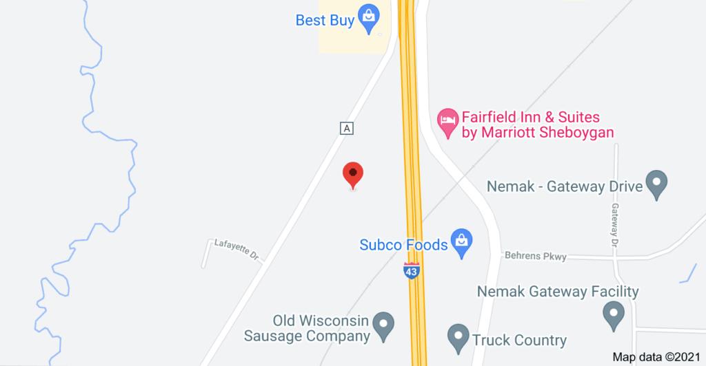 Map of Crossroads
